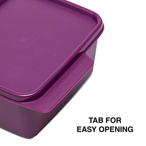 Tupperware Plastic Container - 500ml, 2 Pieces, Purple