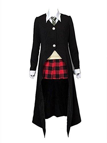 YuanCos Maka Albarn Scythe Meister Black Halloween Cosplay Costume (FemaleXS)