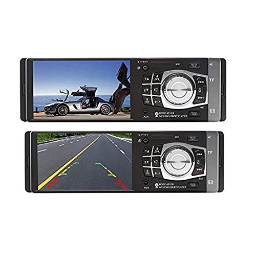 LUOAN AUTO PARTS autoradio 1 One DIN 12v Car Audio Stereo Multimedia Player Schermo 4.1 Pollici autoradio Bluetooth SD USB TF Supporto Camera 4012B