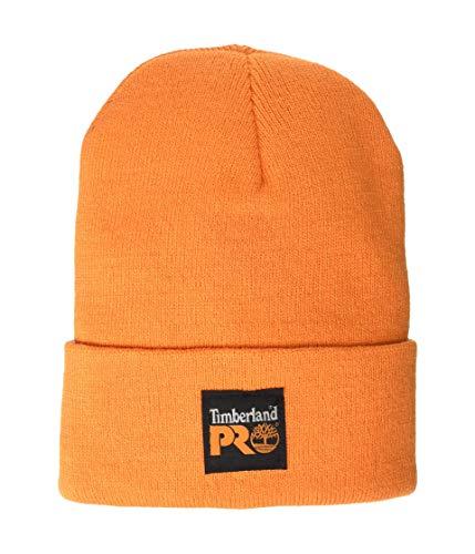 Timberland PRO Men's Watch Cap, Pro Orange, One Size Fits All