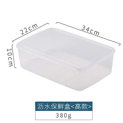 don997gfoh08yewi Porzellan-Aufbewahrungsbox für Kühlschrank und Gefriertruhe, Aufbewahrungsbox für Gemüse und Obst, für Früchte