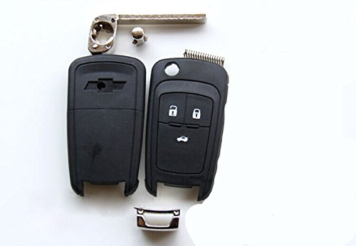 MODIPIM Keyless Entry Remote Case Leather Key Fob Cover Zinc Alloy Key Holder Shell Covers With Key Chain For Mazda 3 6 CX-3//5//7//9 Miata MX-5 3 Buttons Color Brown