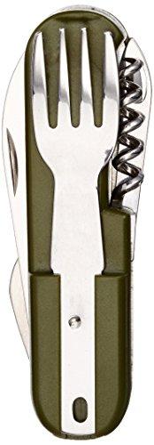Imex El Zorro 11020-a – Coutellerie Multifonction, Couleur Vert, 8 cm