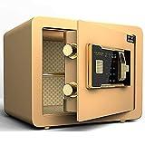 Caja de seguridad a prueba de fuego, Caja fuerte a prueba de fuego con huella digital, Cerradura de combinación para electrónica digital, Caja fuerte biométrica con sistema de bloqueo de huellas digit