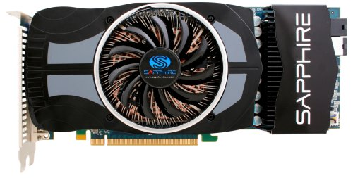 Sapphire ATI Radeon HD 4870 Vapor-X Grafikkarte (PCI-E, 1GB GDDR5 Speicher, VGA, D-Sub, Dual DVI-I, HDMI-Ausgang, 1 GPU)