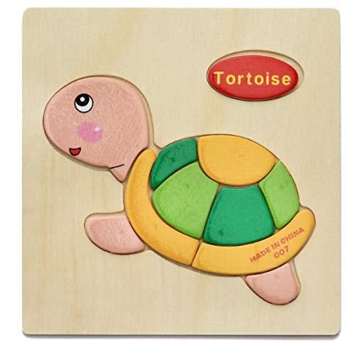 APPmz Juguetes para niños Rompecabezas de Madera Adecuado para niños de 3-5 años Juego de Cerebro Juguetes para niños Los Juegos caseros Son Seguros y Suaves