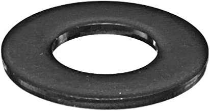 300 Stainless Steel Flat Washer, Black Oxide Finish, Meets MS 15795, 3/8
