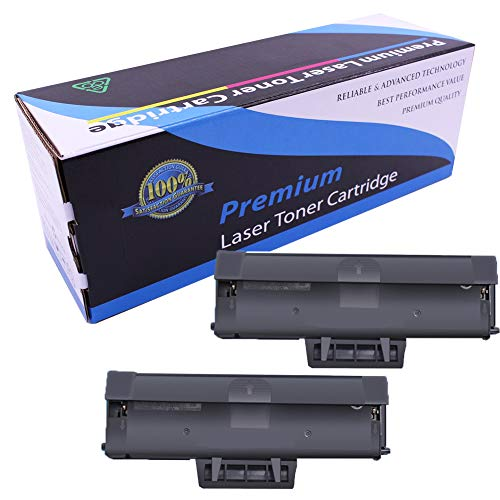 Toner Cartridge B1160 1160 Compatible with Dell B1160 B1160w B1163w B1165nfw, Black, 1500 Pages-2-pack
