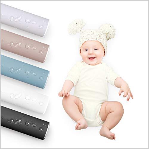 KINLO 0.6x3M Möbelfolie glatter als die Haut des Babys selbstklebende Folie Weiß PVC Küchenschränke Küchenfolie Klebefolie Küche wasserfest Aufkleber für Schrank Dekofolie Schrankaufkleber Tapete