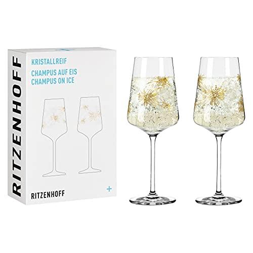 RITZENHOFF 6081001#1 Champagnerglas-Set, Glas, 400 milliliters