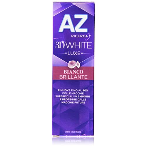 Dentifricio Az 3D White Luxe Bianco Scintillante 75 Ml