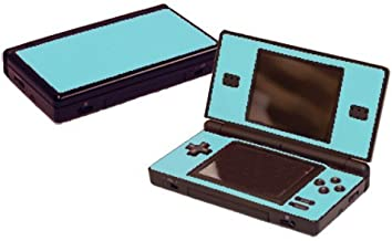 Ice Blue Vinyl Decal Faceplate Mod Skin Kit for Nintendo DS Lite (DSL) Console by System Skins