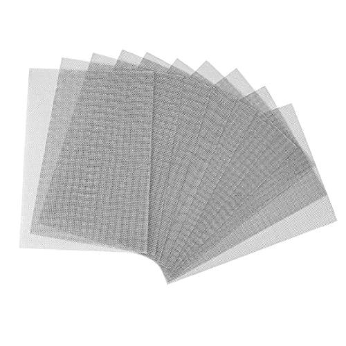 Malla de alambre de acero inoxidable de malla metálica Hoja de ratón de insecto de corrección para Windows Drain airbricks 10PCS ampliamente utilizados para la fabricación de herramientas metalistería