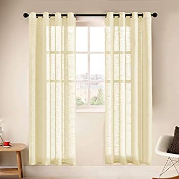 Best sheer yellow curtains Reviews