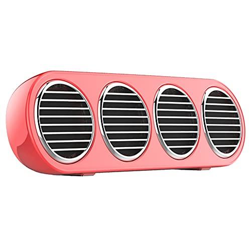 CCYLEZ Barra de Sonido Bluetooth inalámbrica portátil, Altavoz Bluetooth TWS HiFi, Plug and Play, Altavoz de Barra de Sonido para teléfono, computadora, PC, TV en casa, para el hogar, Fiestas(Rojo)
