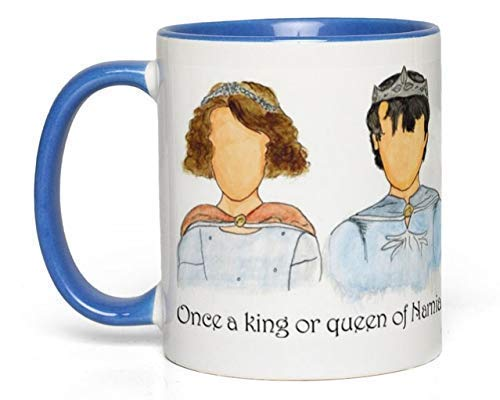 Narnia Kings & Queens Mug (Chronicles of Narnia, C. S. Lewis) Fan Gift