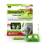 Alpine Sleepsoft Ear Plugs (2019) - Reduces Snoring and Improves Sleep - Soft