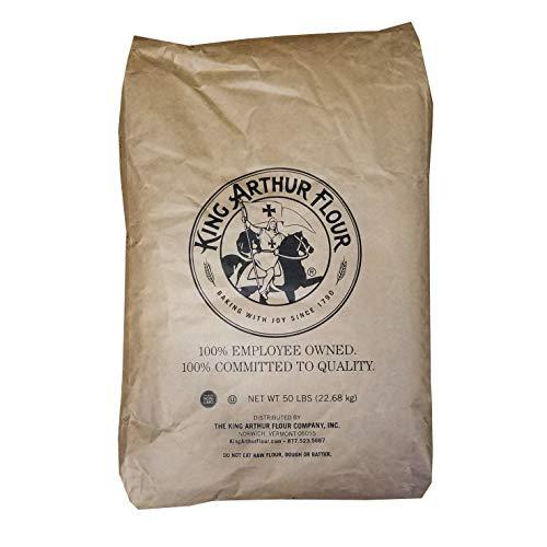 50 LB King Arthur Fine Whole Wheat Flour | Bulk Size Bag