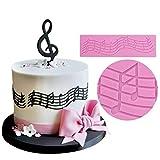Molde de silicona Diadia para decoración de tartas con patrón de encaje