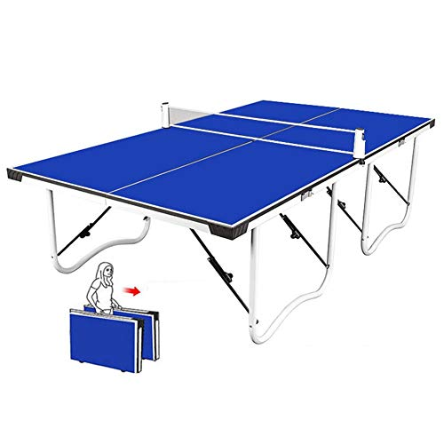 Discover Bargain LiChenYao Ping Pong Net Set, Easy Assembly,Midsize Compact Table Tennis Table,Doubl...