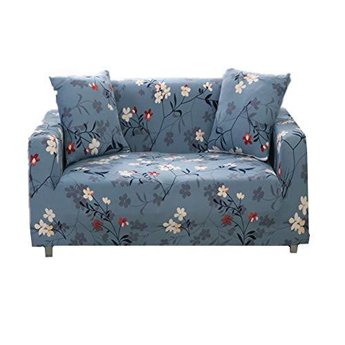 Yagoal Sesselüberwurf Sessel bezug Hund Sofa abdeckungen Klippan Sofa Abdeckung Sessel Abdeckung Stretch abdeckungen für Sofas Sofa Kissen Abdeckung 145-190,Gray Blue