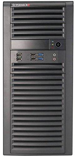 SuperMicro CSE 732D4 500B Midi Tower PC Gehause Micro ATX 4X 3525 interne 2X USB 30 shcwarz
