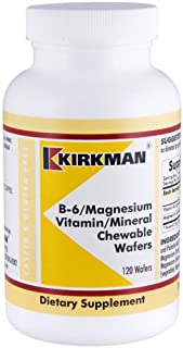 B-6/Magnesium Vitamin/Mineral Chewable Wafer 120 Count