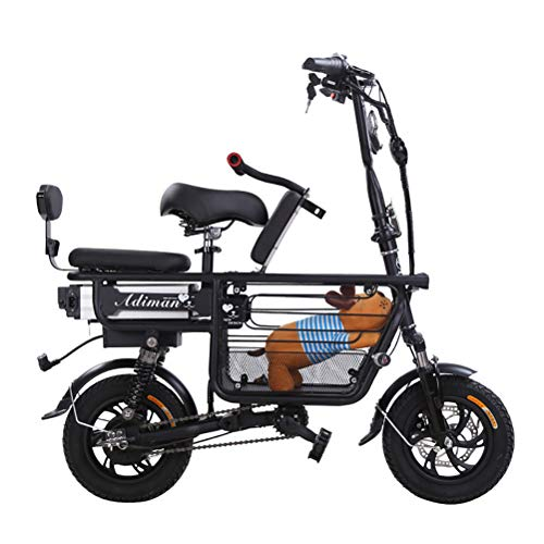 ANYWN Elektrofahrrad Mountainbike E-Bike Elektro, Elektrofahrrad Pedelec Fatbike mit 48V 10AH Lithium Batterie und Hydraulische Scheibenbremse Fahrrad,Schwarz,80KMbattery