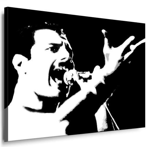 fotoleinwand24 - Stampa artistica da parete, soggetto: Freddie Mercury - Queen NR:016892789 k. Stampa artistica su telaio