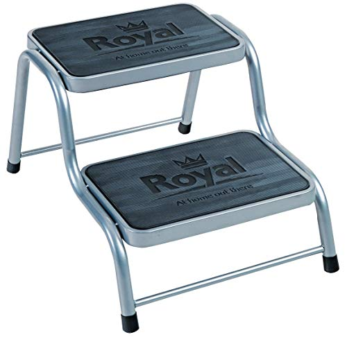 Royal 199200 Deluxe Double Step, Grey