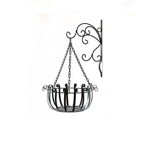 MLHJ Stand de Fleurs- Support de Fleur en Fer, Support de Fleur Suspendu Support de Support de Pot de Fleur de Balcon de Salon (Taille : 30 * 55cm)
