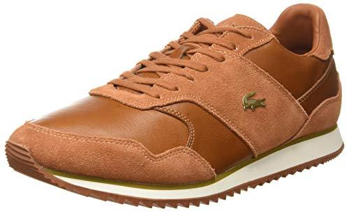 Lacoste Aesthet Luxe 0320 1 SMA Sneakers', Zapatillas Hombre, Marron BRW Lt BRW, 42 EU