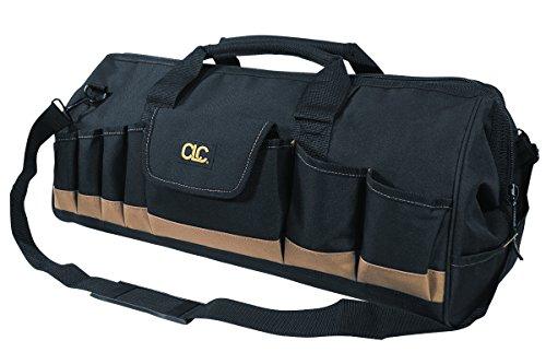 CLC Custom Leathercraft 1164 24 In Megamouth Tote Bag 32 Pocket