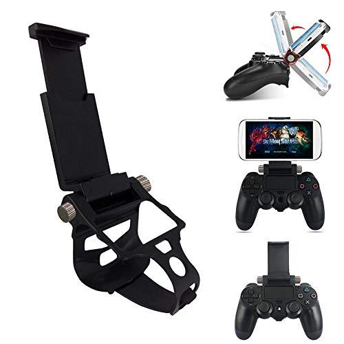 Soporte universal para Gamepad de TODAYTOP, soporte ajustable para teléfono móvil, clip retráctil, soporte para mando de juego para PS4 teléfono móvil