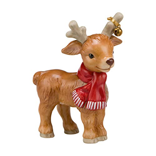 Goebel Weihnachten Rentier Bella Weihnachtsmann