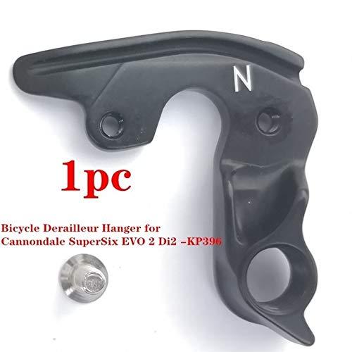 NOBRAND 1pc Posterior de la Bicicleta de la Puntera deserción MTB Perchas for Cannondale SuperSix EVO 2 Di2 de la Puntera KP396 Cannondale Bicicletas (Color : Black)
