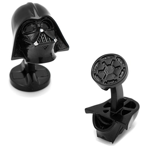 masgemelos Darth Vader 3d black star wars Manschettenknöpfe Cufflinks