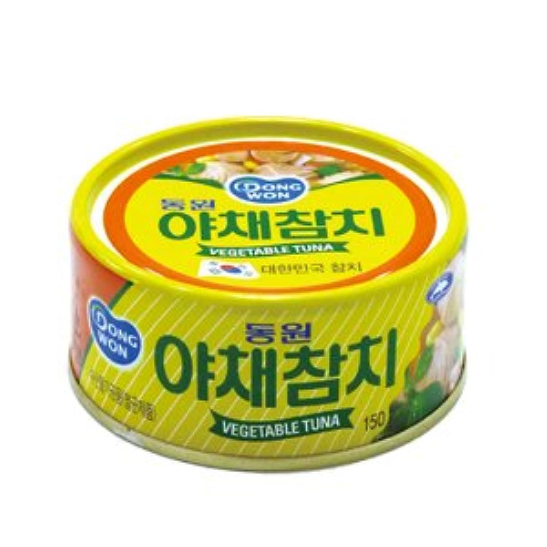 ドンウォン 野菜ツナ缶詰 150g