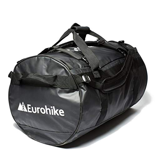 Eurohike Transit 90L Cargo Bag Travel Luggage, Black, One Size
