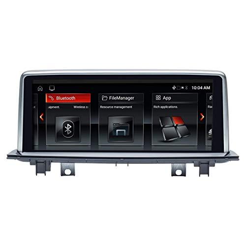 Navegador GPS Navegador GPS para automóvil Android 10 Estéreo automático para BMW X1 F48 2016 2017 Sistema NBT Quad Core 2GB RAM 32GB ROM con sistema iDrive Retenido Pantalla táctil de 10.25 pulgadas