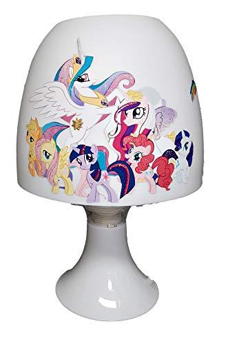 ✿ Tischlampe Kinder Mädchen ✿ PONY Pferdchen ✿ personalisiert mit oder ohne Name ✿ Tischleuchte ✿ Schlummerlicht ✿ Nachttischlampe ✿ Lampe ✿