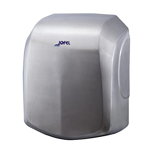 Jofel AA18500 - Secamanos Ave Alto Rendimiento, Inox Satinado, 1500W