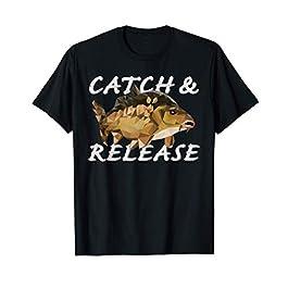 Pêche à la carpe Pêcheur Cadeaux Catch And Release T-Shirt