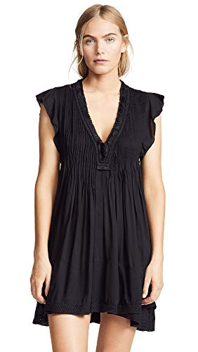 Poupette St Barth Women's Sasha Mini Dress, Black, Small