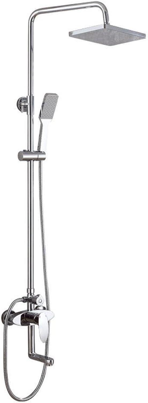 MAFYU Duschsysteme Wand-Typ 3-Stall Heie Und Kalte Dusche Set