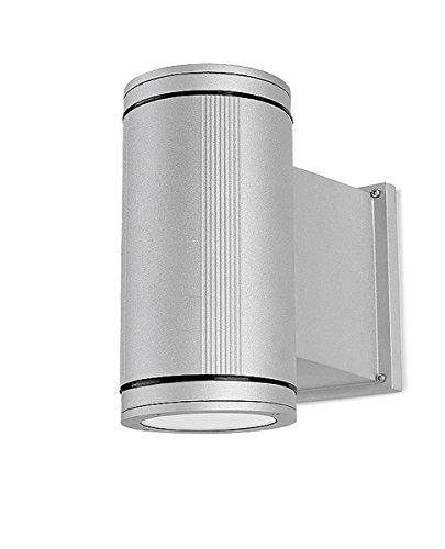 Accessoire de Velo Gaetooely 3 LEDs Phares avec Support de Montage du Velo Retro Argent