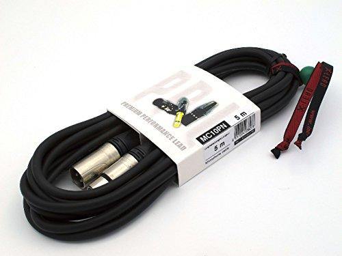 X-LEAD MC10PN050BK Serie PLATINUM - Cable de micrófono profesional - XLR/XLR -...
