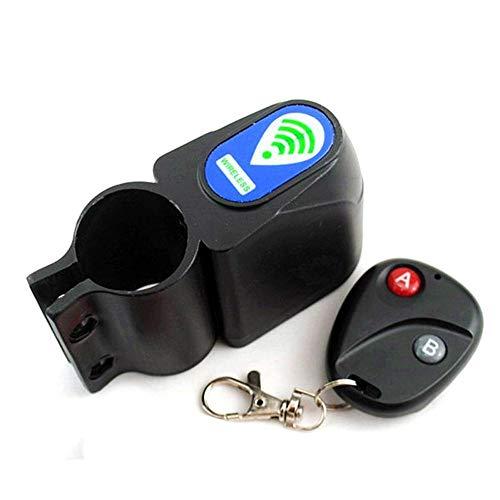 Vvciic 1.5m Alarm Disc Lock Security Spring Promemoria Cavo bobina Cavo antifurto per moto Giallo