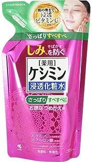 ケシミン・ケシミン浸透化粧水 さっぱりタイプ つめかえ用 140ml [並行輸入品]