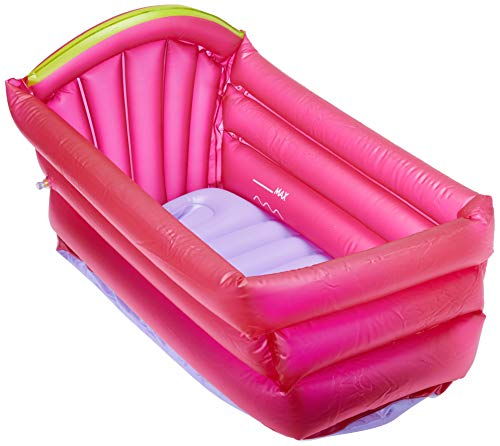 Banheira Inflável Bath Buddy, Multikids Baby, Rosa